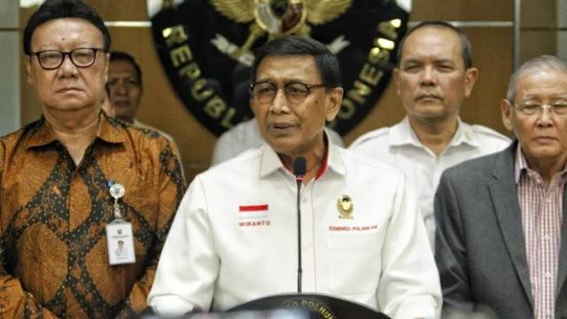 Komnas HAM Minta Jokowi Evaluasi Wiranto