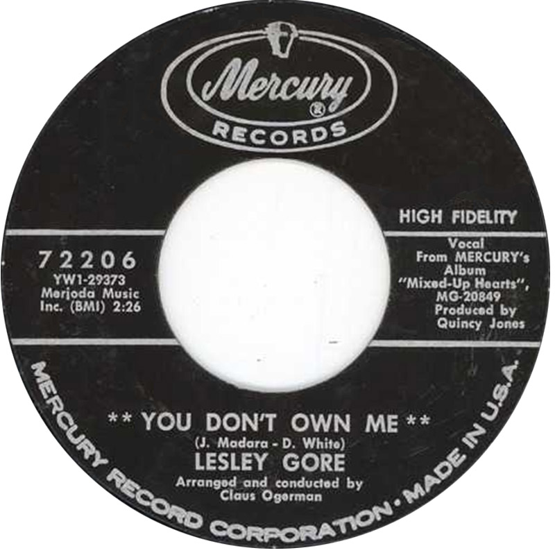 A TRIP DOWN MEMORY LANE: HISTORY OF A SONG: YOU DON'T OWN ME