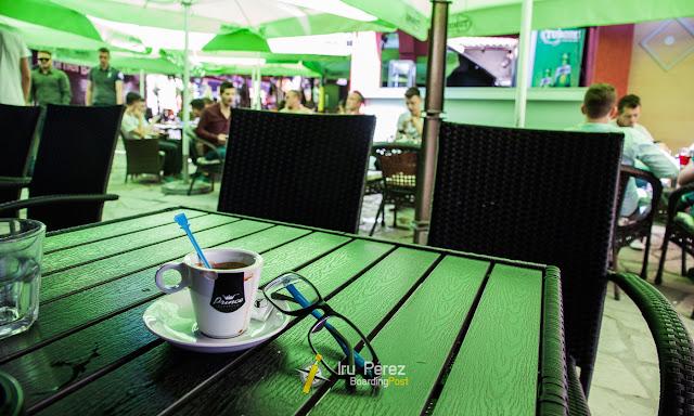 Cafeterías del centro de Prizren