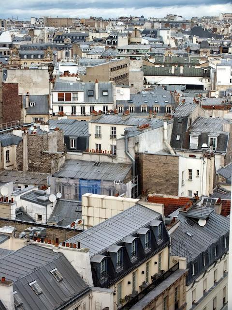 tejados grises de parís