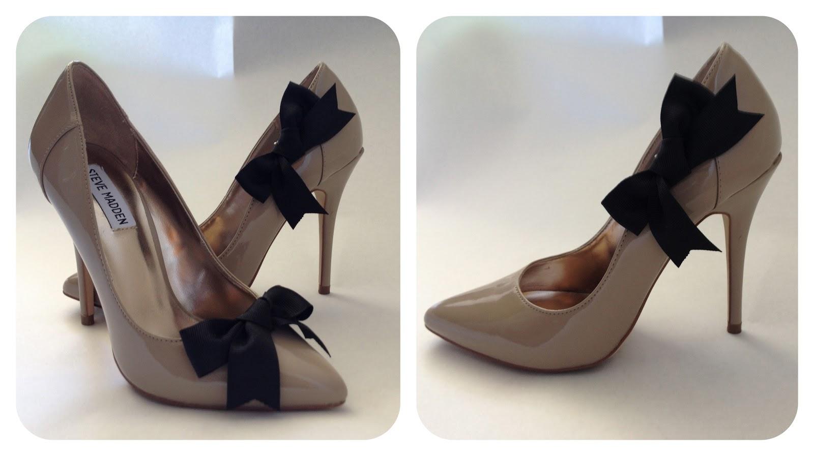 a1f82785353 DIY Tutorial: Christian Louboutin Bow-Tie Shoe |Fashion, Lifestyle ...