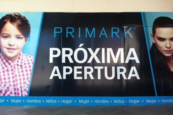 Cartel de Primark