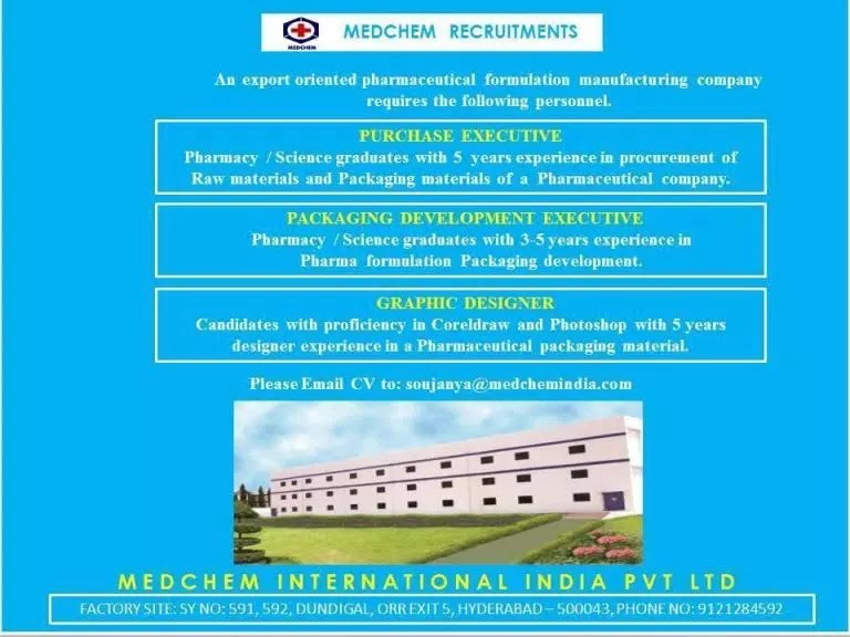 International Pharma Companies In Hyderabad