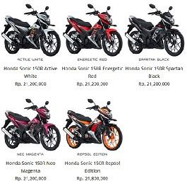 Kredit Motor Honda di Jakarta