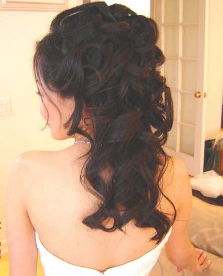 Hairstyles Half: STYLE & FASHION: Half Updos Hairstyles– Day And Night