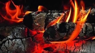 Laksana Menggegam Bara Api