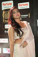 Prajna Actress in backless Cream Choli and transparent saree at IIFA Utsavam Awards 2017 0055.JPG