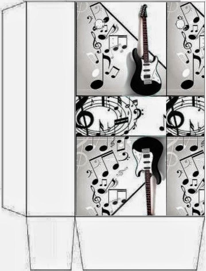 Música: Cajas para Imprimir Gratis. | Ideas y material gratis para ...