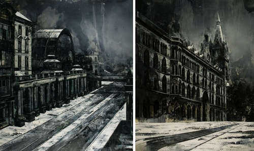 00-Mark-Thompson-Austere-and-Desolate-Cityscapes-Paintings-www-designstack-co