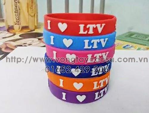 Bộ sưu tập vòng tay cao su LTV