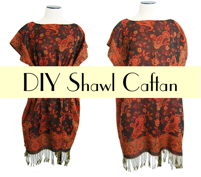 Jessamity: DIY Shawl Caftan