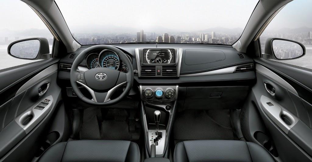 Nội thất tinh tế của Toyota Vios 2014