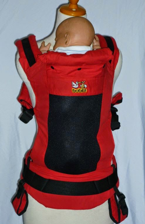 Bobita Gen2 Soft Structured Carrier (SSC) - Red