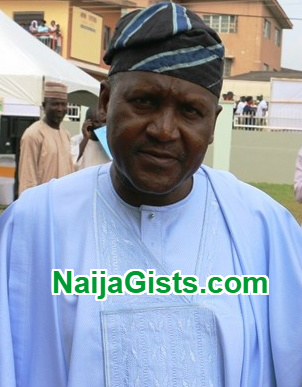dangote md dies cancer