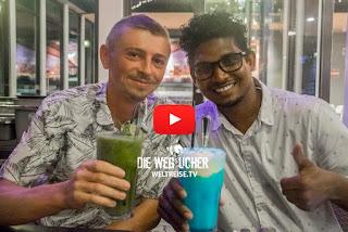 Weltreise, Malediven, Freunde auf den Malediven gefunden, Die Wegsucher, Arkadij und Katja