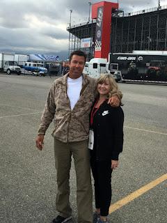 New NASCAR Fans - Eric & Michelle