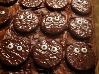 Scaredy Cat Brownies Halloween Dessert