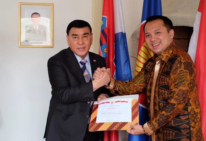 Dubes Sjahroedin dan Gubernur Ridho Ficardo Promosikan Lampung di Kroasia