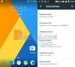 CyanogenMod 12.1 Andromax A