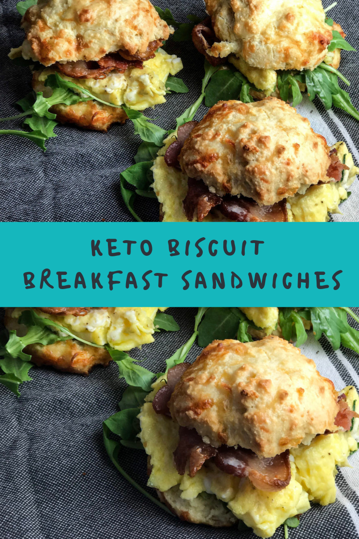 KETO BISCUIT BREAKFAST SANDWICHES RECIPE