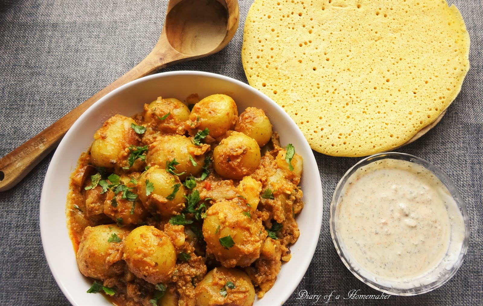 Diary of a homemaker delicious home cooked recipe collection kashmiri dum aloo forumfinder Gallery