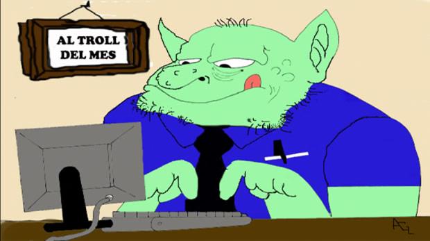Antipersonaje: El troll azul de las redes sociales