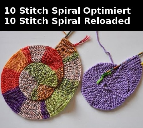 Ten Stitch Spiral - Tutorial