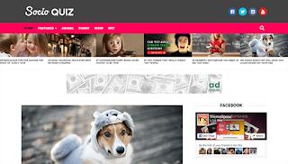 Socio - Viral & Buzz - responsive free blogger template