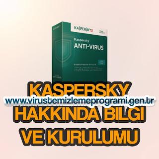 Kaspersky Virüs temizleme programı