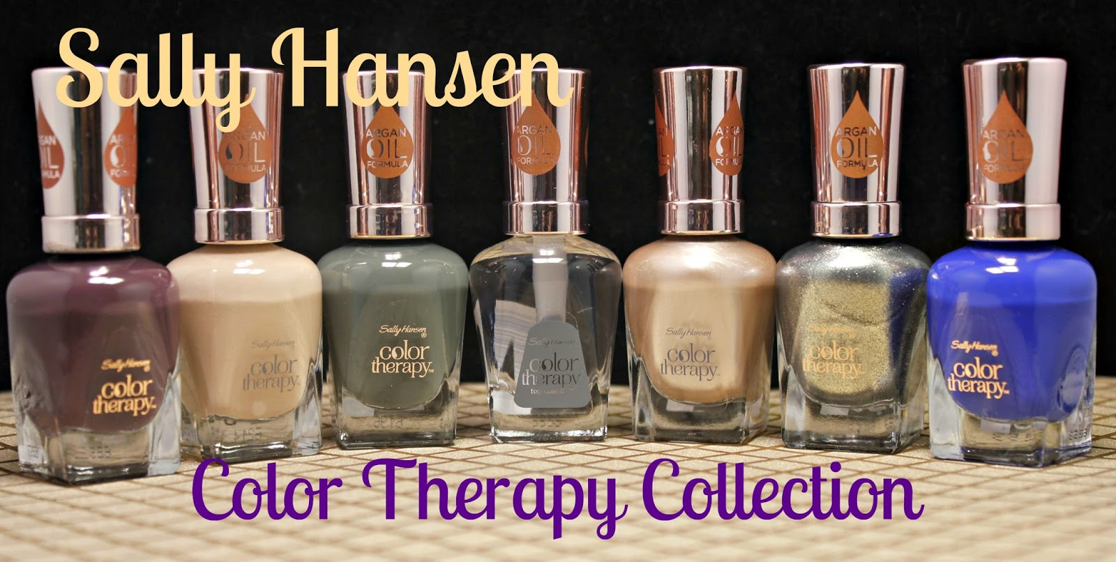 NEW Sally Hansen Color Therapy Collection