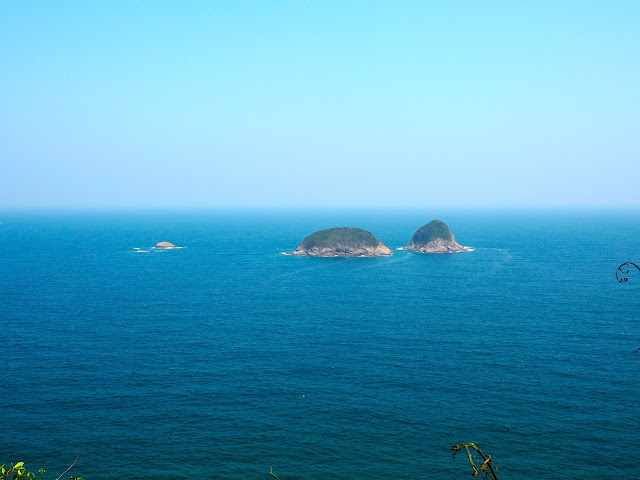 Coastal views from the Tai Long Wan hiking path, Hong Kong
