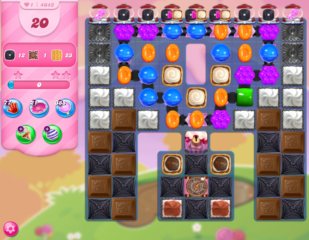 Candy Crush Saga level 4642