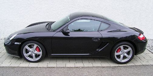 the Cayman with seven speed