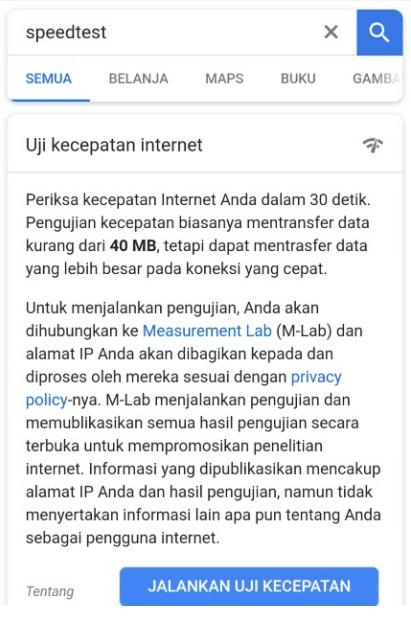 Karena dalam beragam situasi cukup kaya dibutuhkan 3 Tutorial Mengecek Kecepatan Internet Android (Paling Akurat)