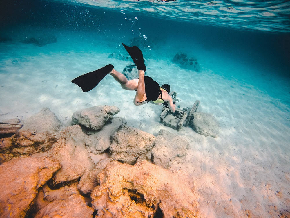 Diving in Bahamas