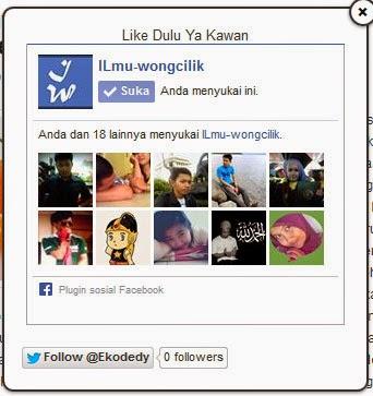 Cara Mudah Membuat Fans Page Like Facebook Melayang Di blog