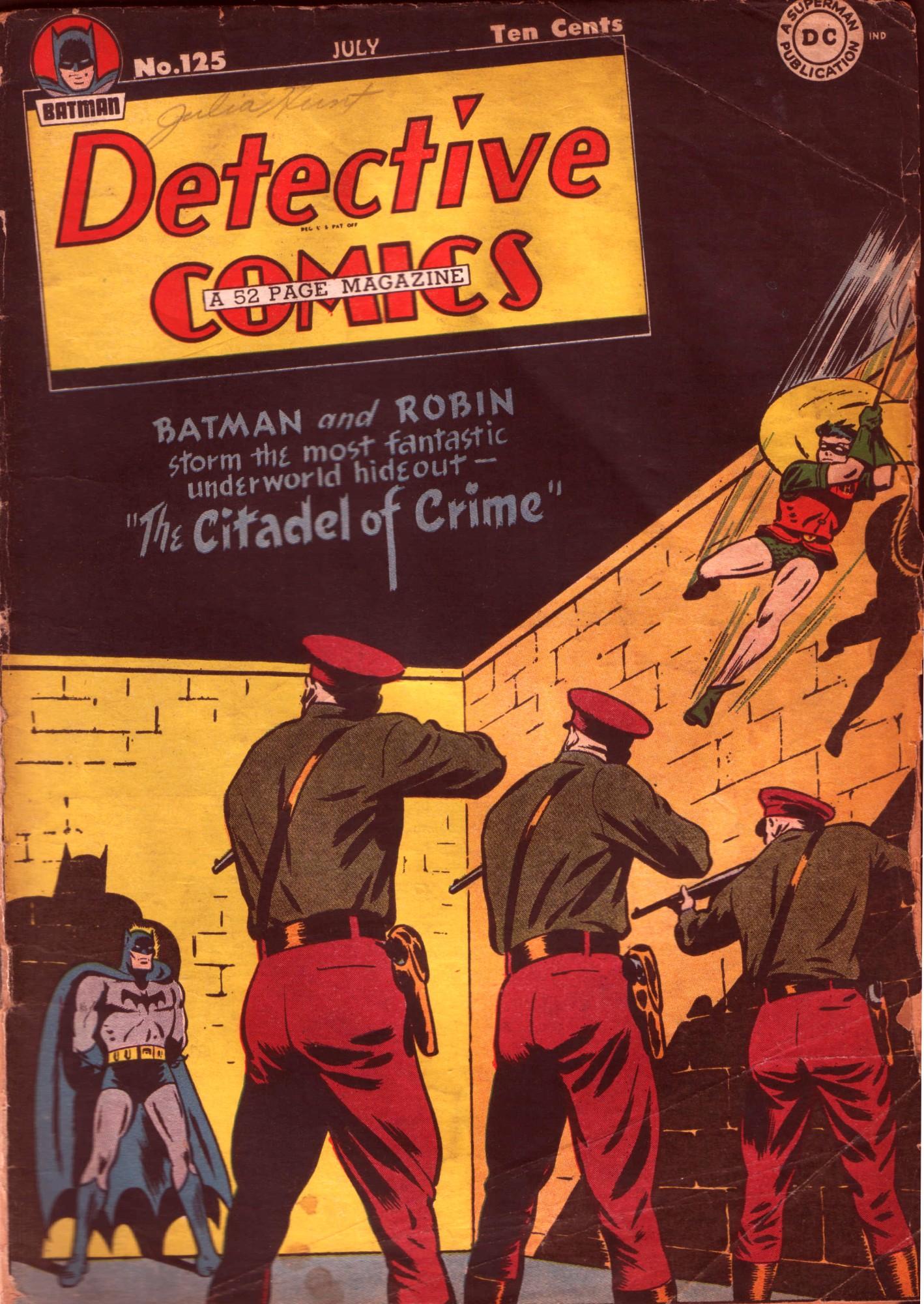 Detective Comics (1937) 125 Page 1