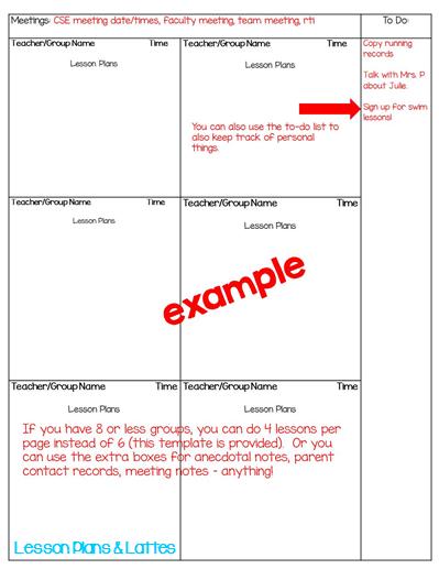 Lesson Plans Part 1 Choosing A Templates Lesson Plans Lattes