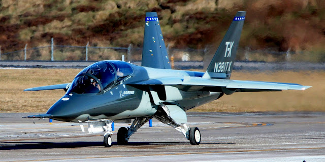 Image Attribute: Boeing's T-X Prototype 1 / Source: Boeing