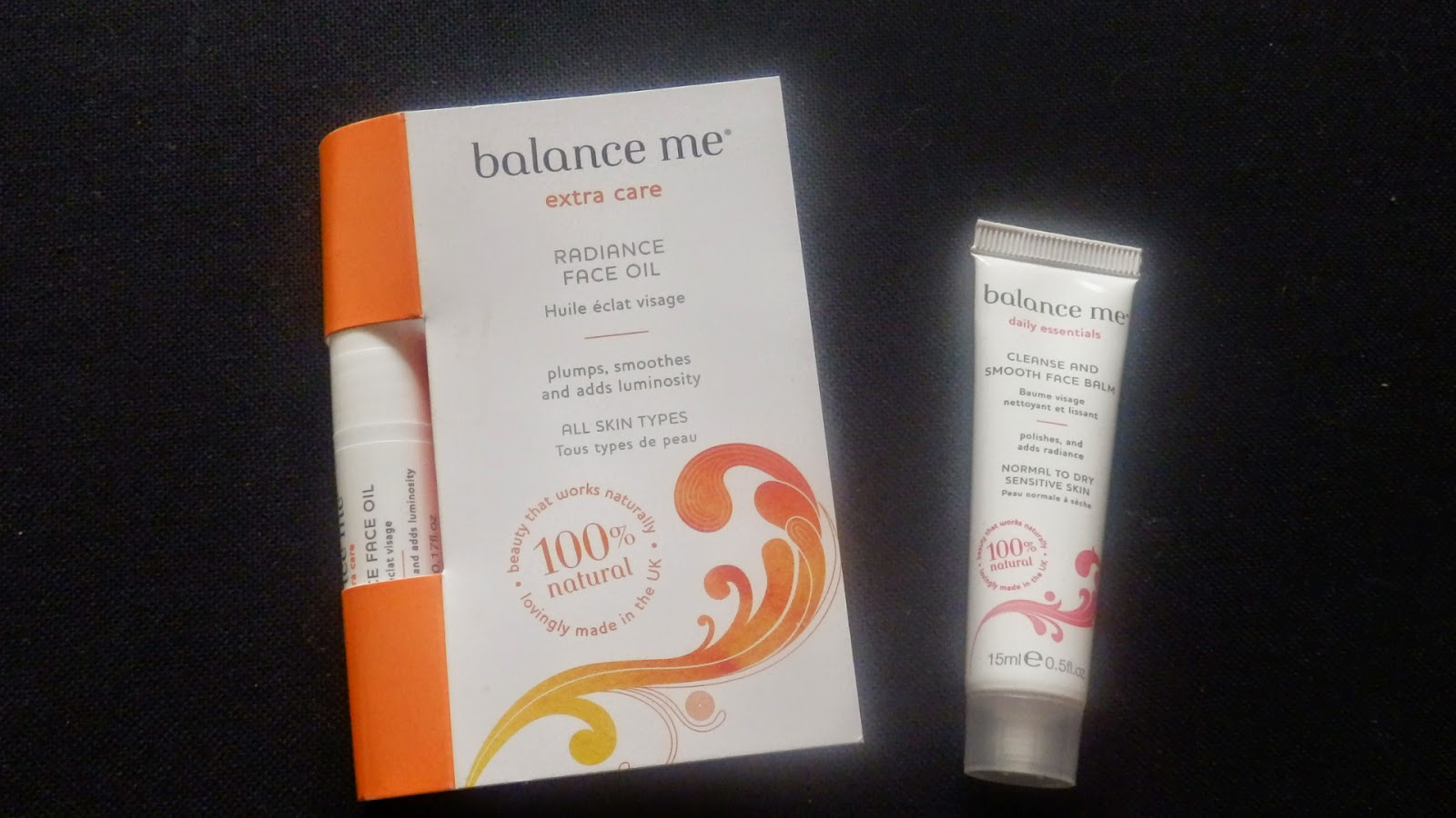 Balance Me Shopping Evening Samples