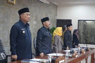 Walikota Cirebon Sampaikan LKPJ 2018 Pada Rapat Paripurna