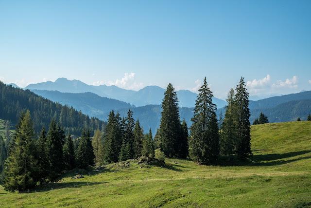 Vier-Hütten-Wanderung Mühlbach  Wandern am Hochkönig  Wanderung SalzburgerLand 04