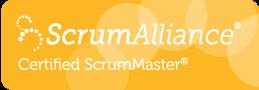 Certified ScrumMaster Logo by Scrum Alliance