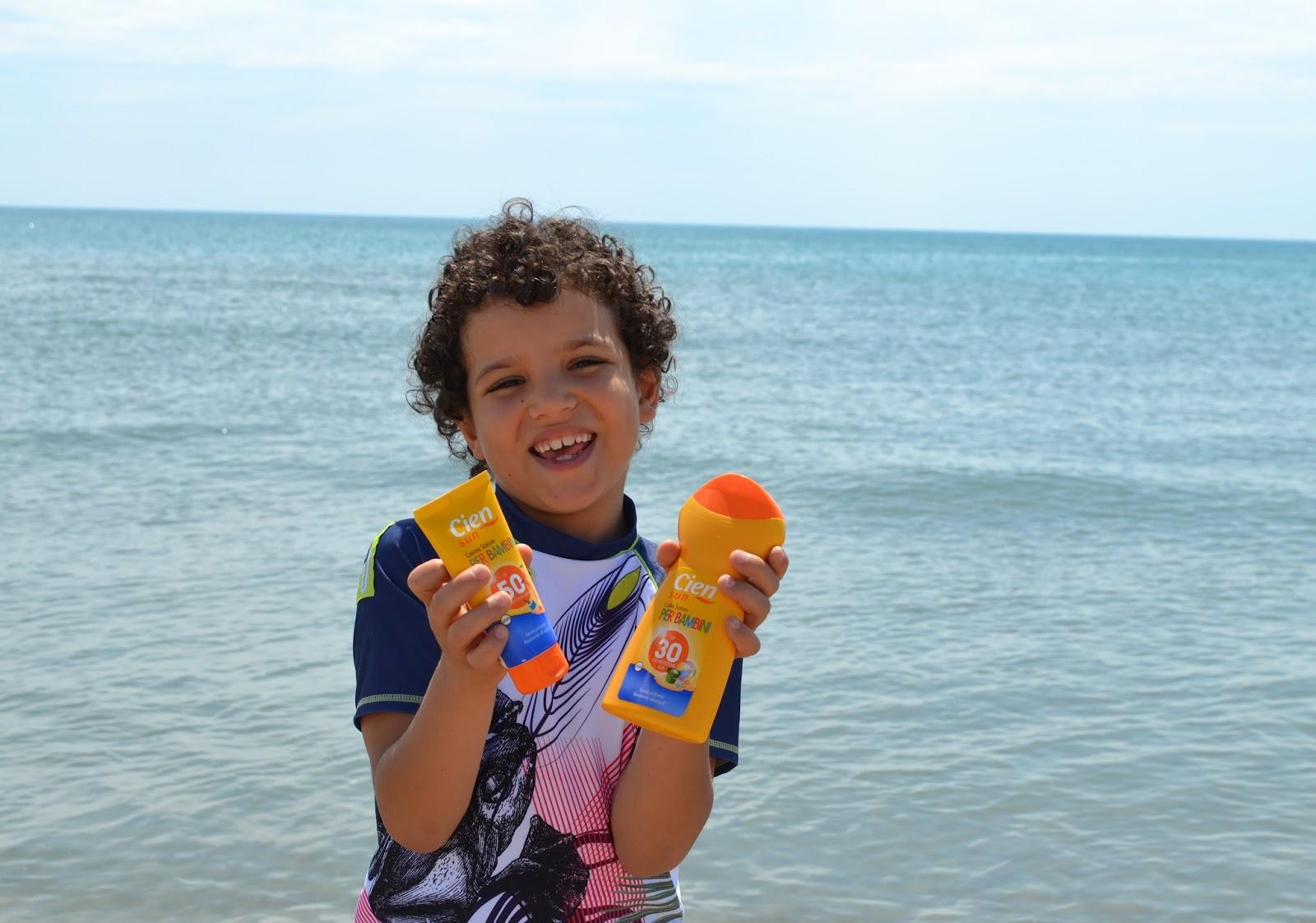 Cien Sun protettore solare per bambini