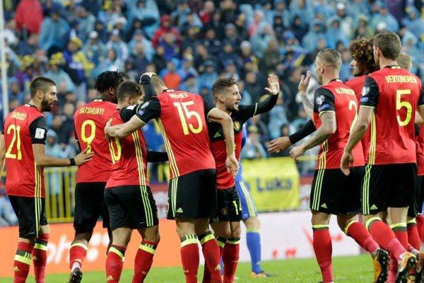 Bỉ vs Costa Rica 01h45, ngày 12/06