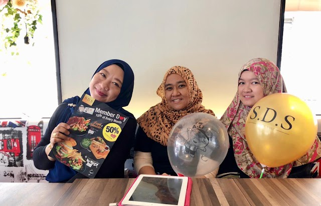 Makan Tengahari di SDS Bakery & Cafe, Taman Pelangi, JB