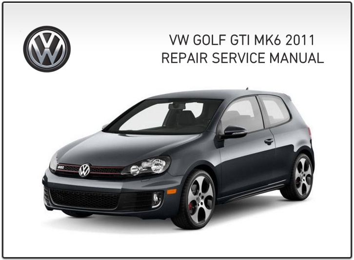 GOLF GTI MK6 WORKSHOP MANUAL