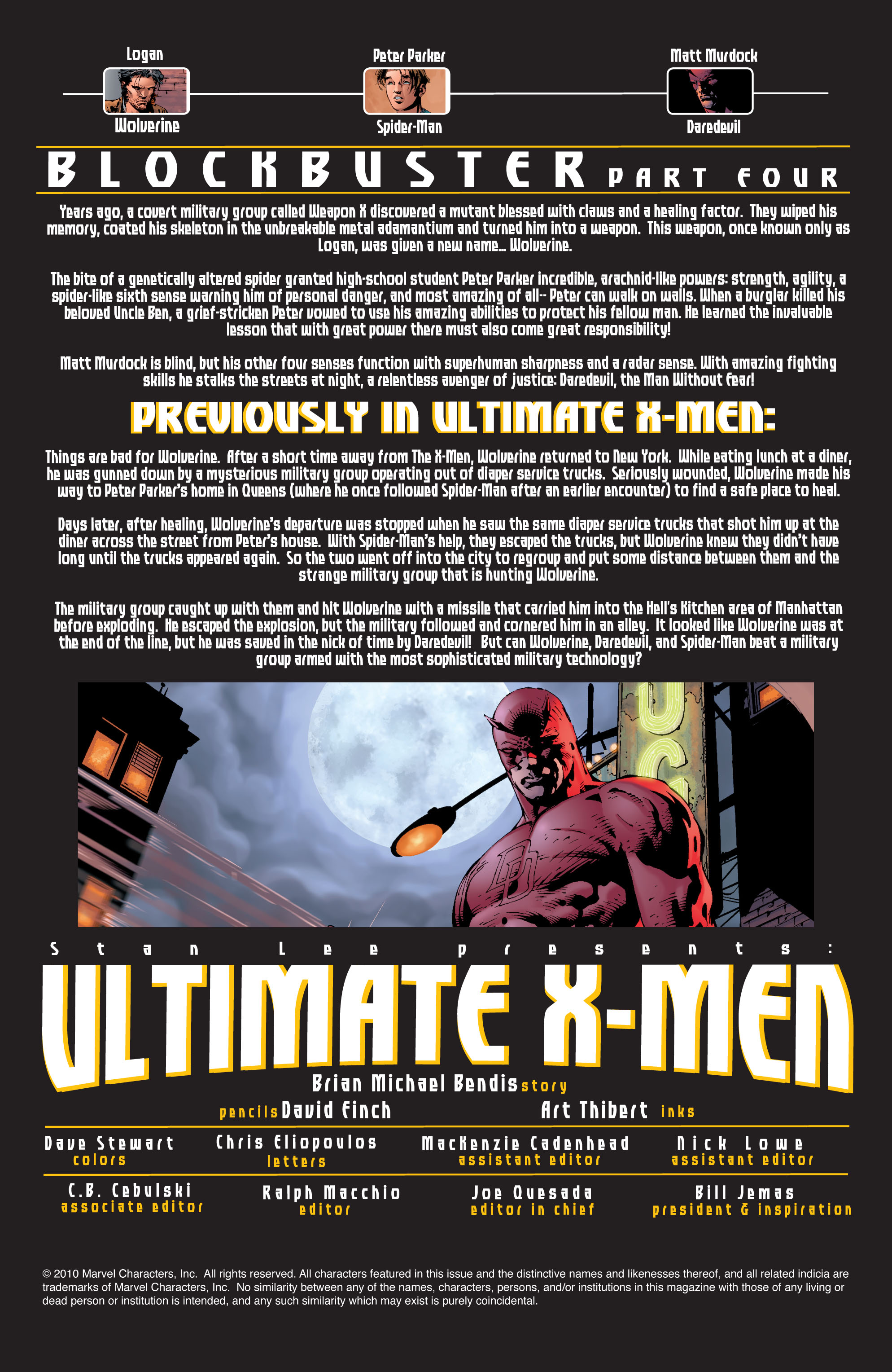 Read online Ultimate X-Men comic -  Issue #37 - 2