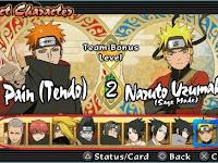Update Cheat Naruto Shippuden Ultimate Ninja Impact PPSSPP Terlengkap dan Terbaru