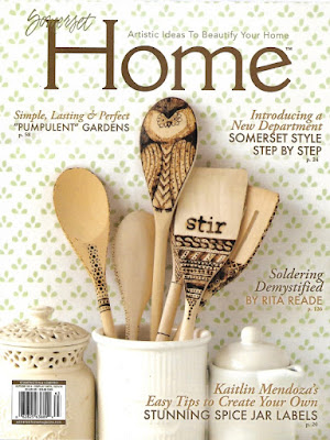 Vintage with Laces published in Somerset Home Autumn 2016